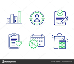 Headhunting Rfp And Graph Chart Icons Set Patient History