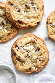 chocolate chip cookies and milk. Exellent And Milk Bar Salted Chocolate Chip Cookies  Foodiecrushcom Recipes Easy  Baking Throughout And I