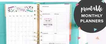 monthly planner free download free printable 2018 wall calendar hand lettered