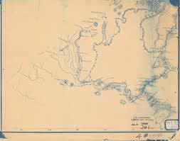 Foot History Chart Historical Nautical Chart 361_c 00 1871 Yukon River From Foot Of River To Sea