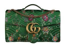 Gucci Gg Marmont Jacquard Shoulder Bag