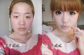 transformations 33 asian s before and after the makeup 75 pics what do you think of