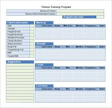Training Schedule Template Word Printable Schedule Template