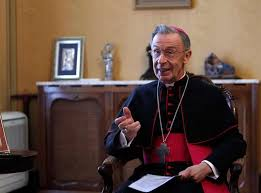 Image result for Cardinal Luiz Ladaria graphics