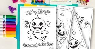 Search through 623,989 free printable colorings at. Baby Shark Coloring Pages Free Download For Kids