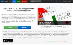 Inex Finance Online Personal Finance Management Software