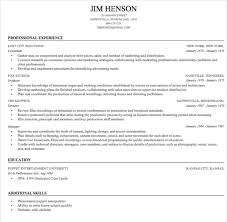 linked in resumes