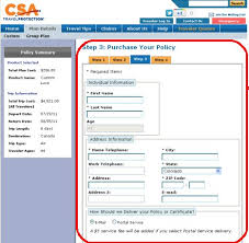 Travel Insurance Quote 93 Best Review Of CSA Travel Insurance Travel Insurance Review