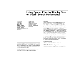 Vmrs Wall Chart Pdf Using Space Effect Of Display Size On Users Search