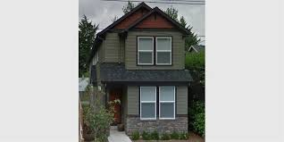 house front color elevation view for 10133 narrow lot house plans small lot house plans