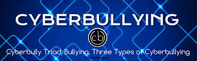 cyberbully triad bullying three types of cyberbullying cyberbullying bullying cyberbully triad 1600x500