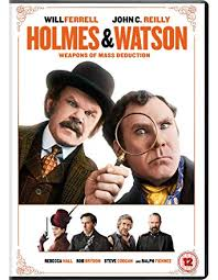 Holmes Watson Dvd 2018 Amazon Co Uk Will Ferrell