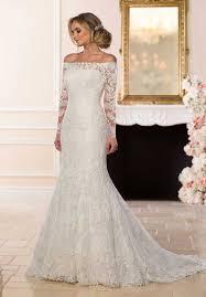 off the shoulder wedding dresses