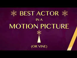 <b>Golden Snowflake</b> Awards - Best Actor In A Motion Picture Or Vine ...