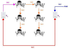one way lighting circuit wiring diagram images wiring wiring 6 recessed ligthing two 3 way switches