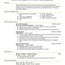Resume Format In Excel Archives - Zlatanblog.com Inspirational ...