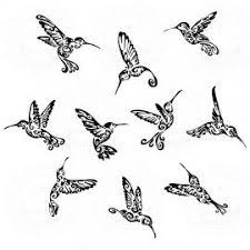 tribal hummingbird tattoo drawing. Brilliant Hummingbird Hummingbird Tribal Tattoo In Tribal Tattoo Drawing