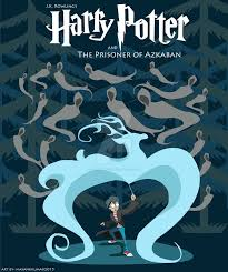 harry potter cover flat design by mayank94214