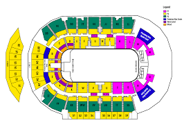 Seating Chart Canadian Finals Rodeo