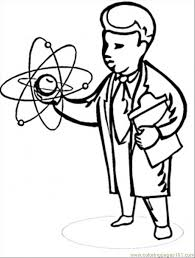 Free Coloring Pages Free Printable Coloring Page Scientist