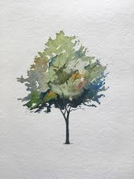 How To Paint A Tree In Watercolors The Startup Medium