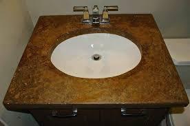sinks concrete vessel sink diy make a ramp handmade slot drain concrete vessel sinks