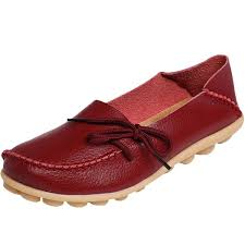 mordenmiss womens moccasins leather 1 burdy