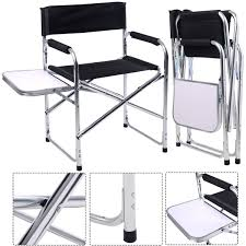 fold up chairs with side table. picture of camping aluminum folding chair with side table fold up chairs