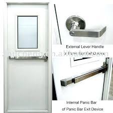 Commercial Glass Door Pulls Commercial Door Hardware Medium Size Of