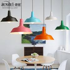 modern minimalist loft creative restaurant bar aluminum single iron chandelier lid industrial art lamps and lanterns drum light pendant pendant