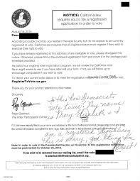 Form Voter Registration Form Kak2tak Tk California