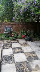 Pebble Garden 12 Best Pebble Mosiacs Patio And Garden Features Images On