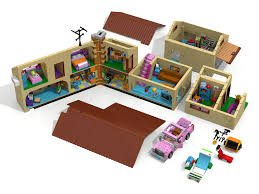 Lego House Plans Unofficial Ldd 71006 The Simpsons House Roof Mod And More Lego