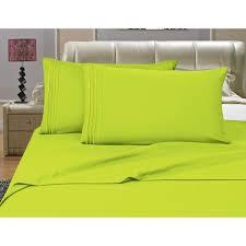 elegant comfort 3 piece lime solid
