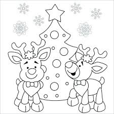 Santa Claus And Rudolph Coloring Pages With Cute 2169244 Swifteus
