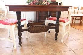 Refinish Kitchen Table Top Remodelaholic Step By Step How To Refinish Wood Furniture