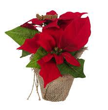 Küntslicher Weihnachtsstern Rot 3 Stück Christstern