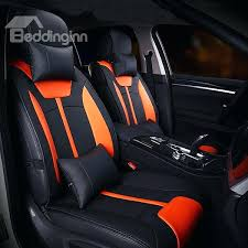 best seat covers for cars custom seat covers in red and black custom stitch orange
