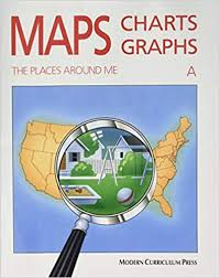 Modern Charts And Graphs Amazon Com Maps Charts And Graphs Level A The Places