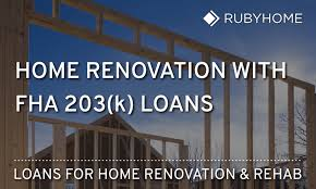 Remodeling Loan Calculator Fha 203k Loans Everything You Need To Know