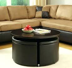 coffee table with nesting ottomans nesting ottoman chair marvelous nesting ottoman the most popular nesting ottomans