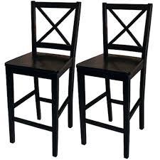 furniturecool black bar stools with backs 45 cross back stool counter set of 2 black bar stools with backs s37