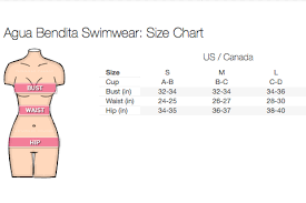 Rhythm Swim Size Chart Need Help With Swimwear Sizes This Might Help Blog By