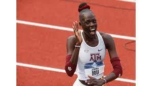 Athing Mu leads U.S. track and field ...