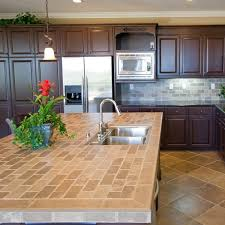 kitchen countertops alternatives tile