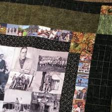 Custom Quilts | Personalized Quilts | CustomMade.com & Mosaic Photo Quilt 1 by Lewis Fuller Adamdwight.com