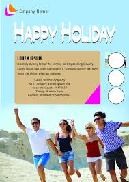 holiday flyer templates printable holiday flyer template
