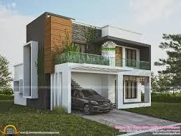 Green Home Contemporary Style Kerala Home Design And Floor Plans - Green home design