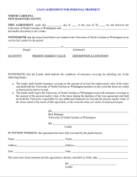 Loan Contract Sample Letter Template For Loan Agreement Best Of Friendly Loan Agreement 15