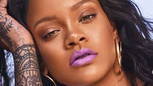 rihanna s fenty beauty dropped it s latest holiday collection chill owt and rihanna shows you a makeup tutorial using a called killawatt and a